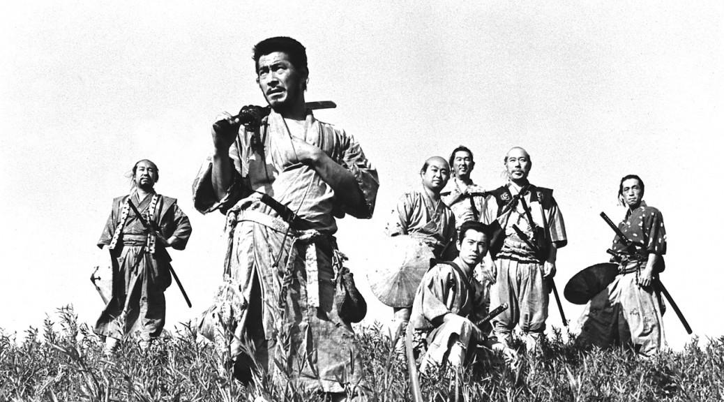 Les 7 samouraïs - Affiche