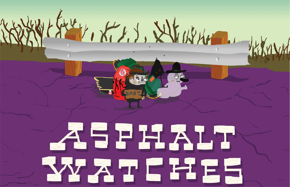 Asphalt watches