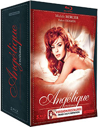 Angélique Marquise des Anges - L'intégrale - Blu-ray