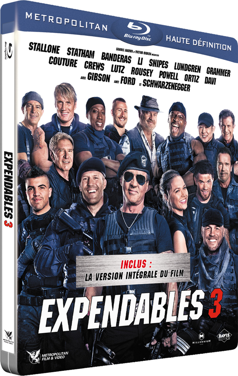 Expendables 3 - Blu-ray