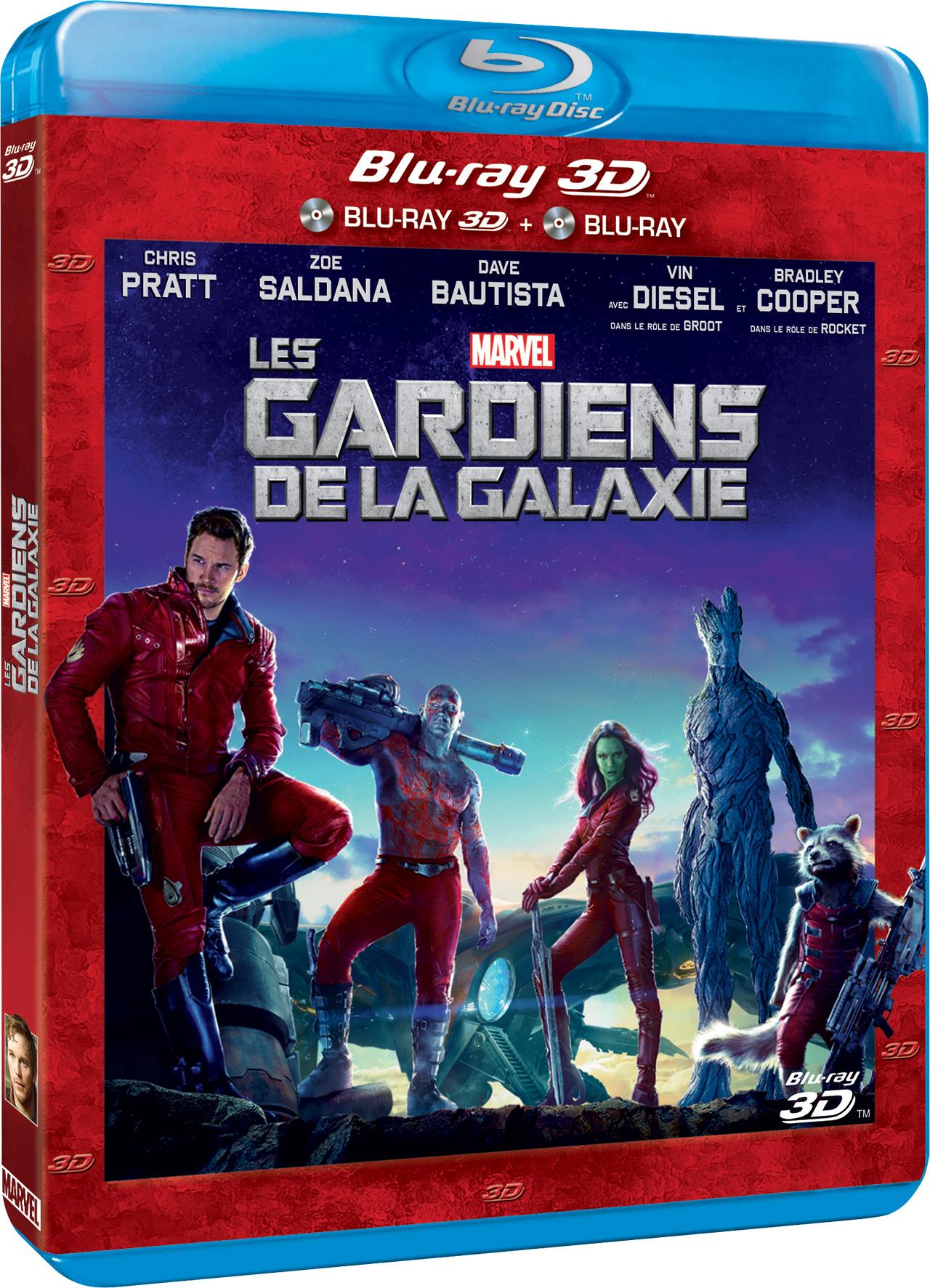 Les Gardiens de la galaxie - Blu-ray 3D