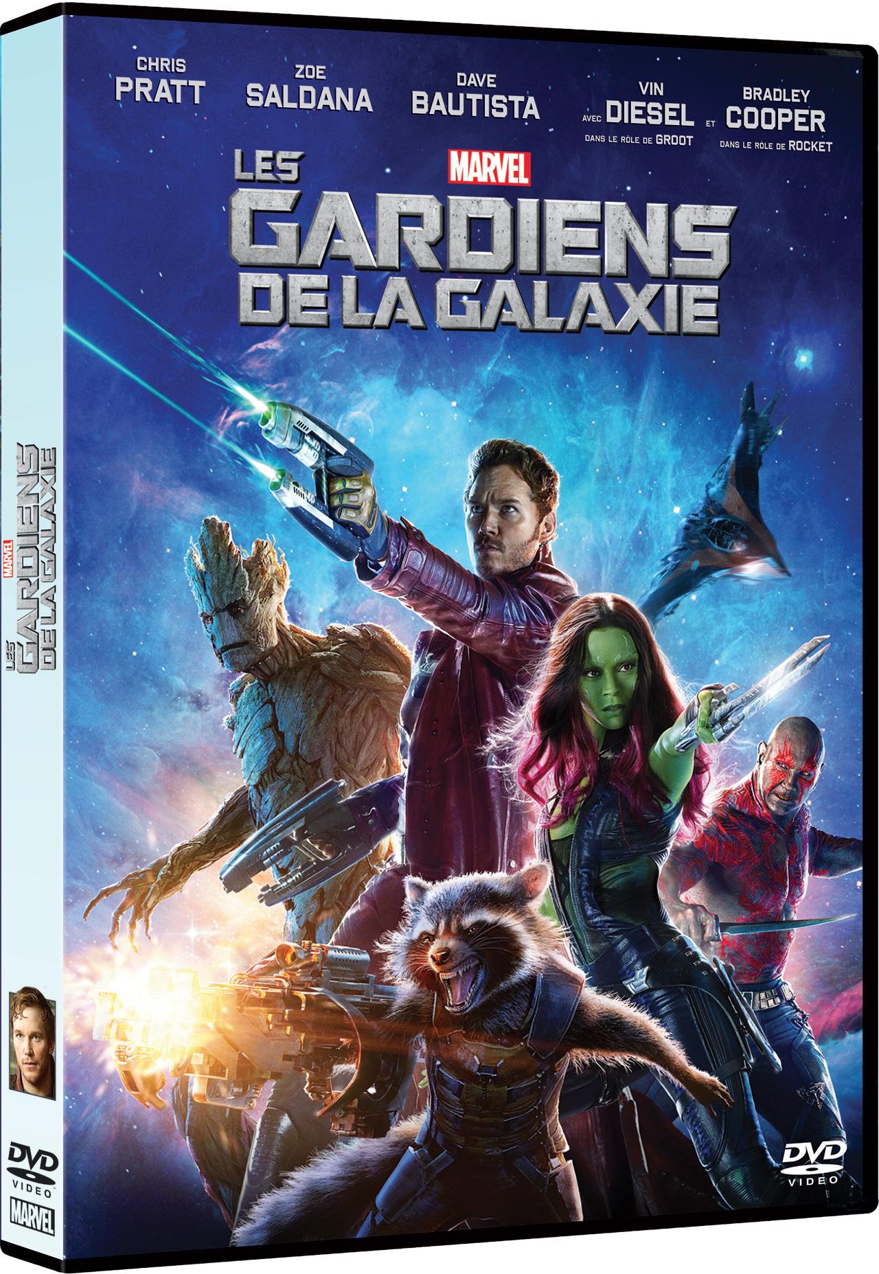 Les Gardiens de la galaxie - DVD