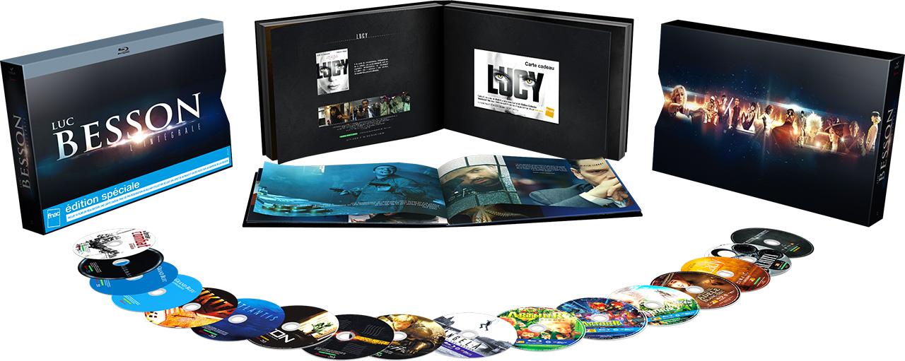 Coffret Intégrale Luc Besson - Blu-ray