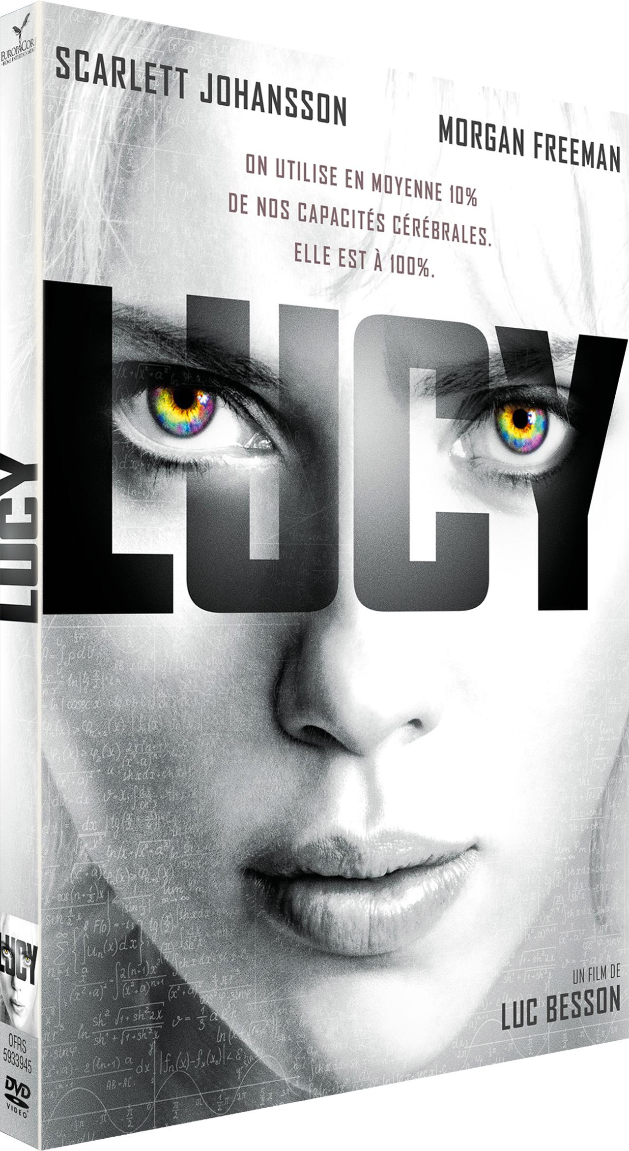 Lucy de Luc Besson - DVD