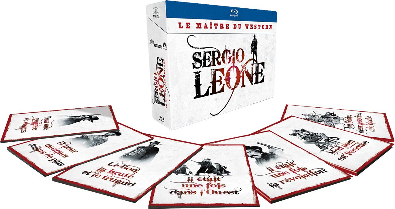 Coffret Sergio Leone, le maître du western - Blu-ray