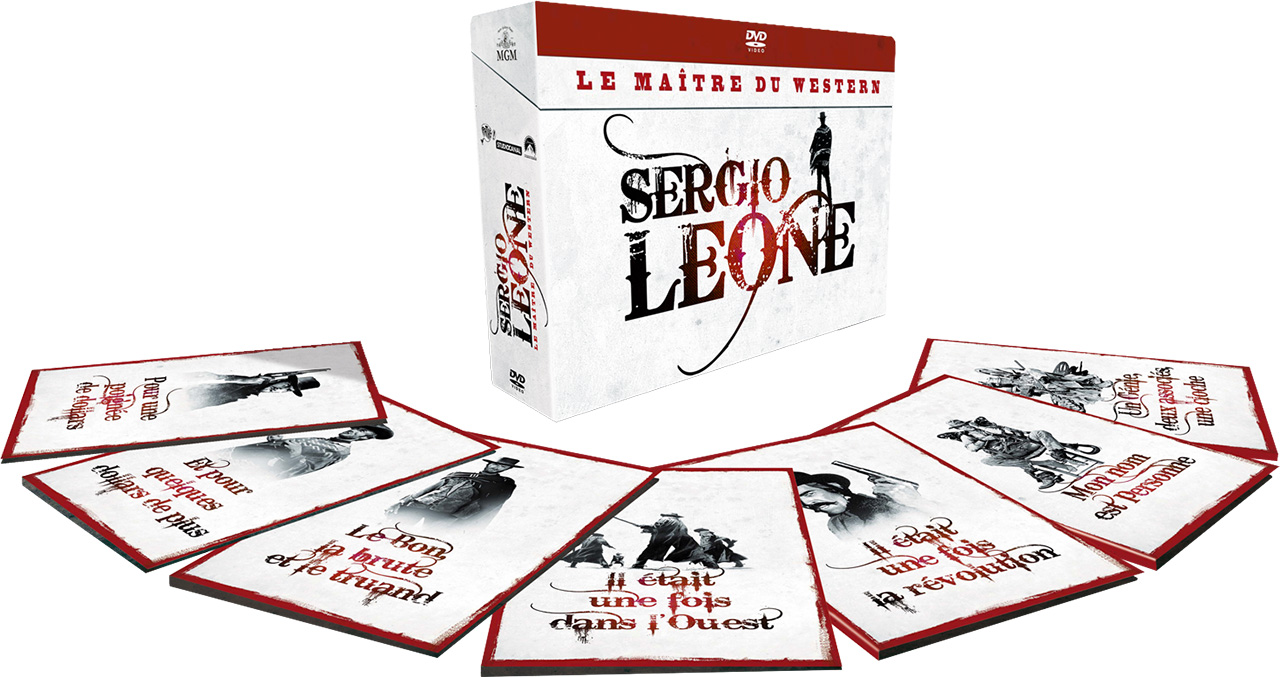 Coffret Sergio Leone, le maître du western - DVD