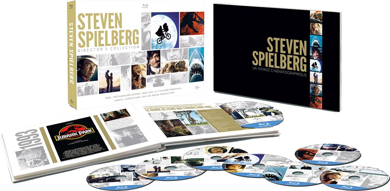 Steven Spielberg - Coffret Director's Collection - Blu-ray