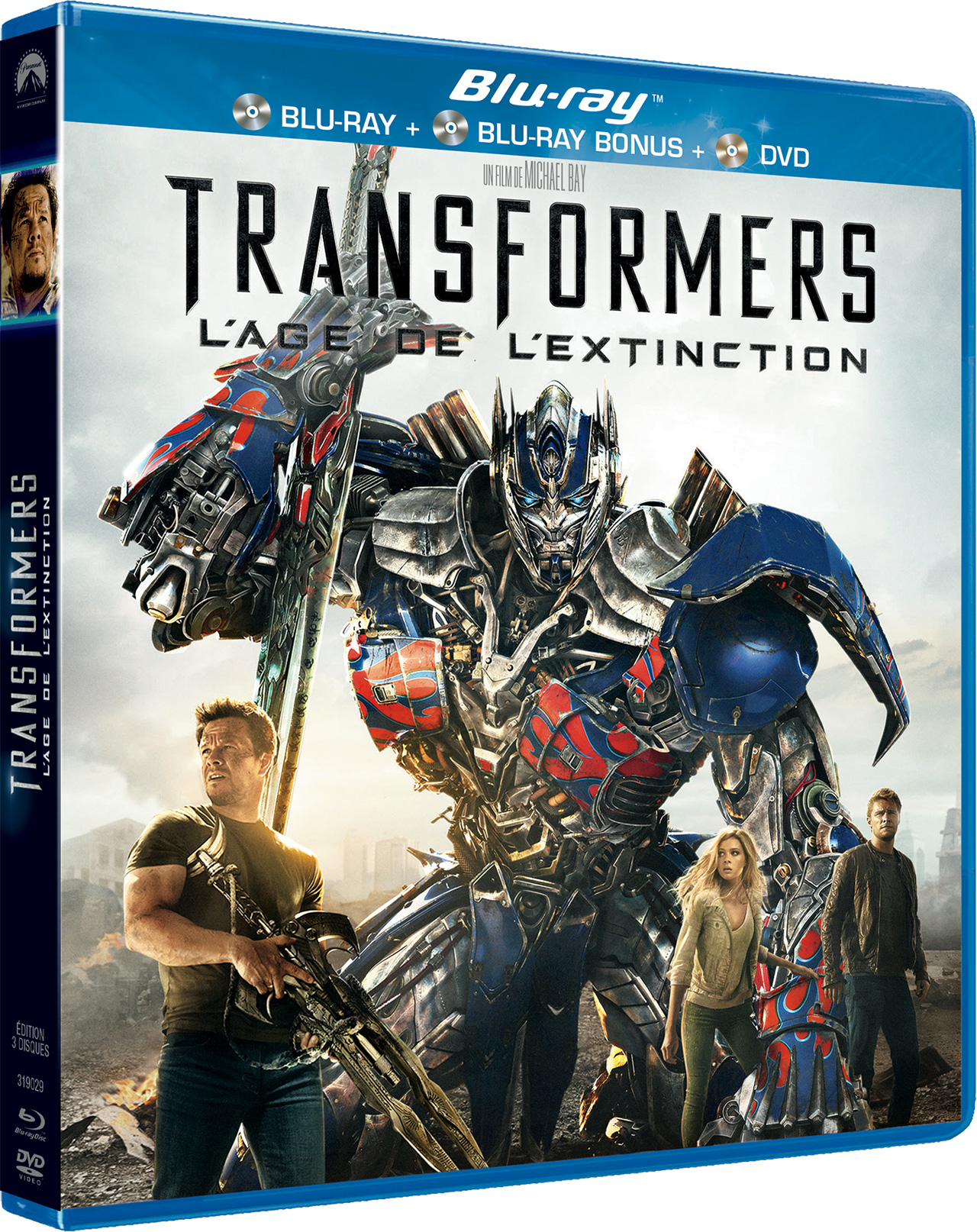 Transformers : L'Âge de l'extinction - Blu-ray