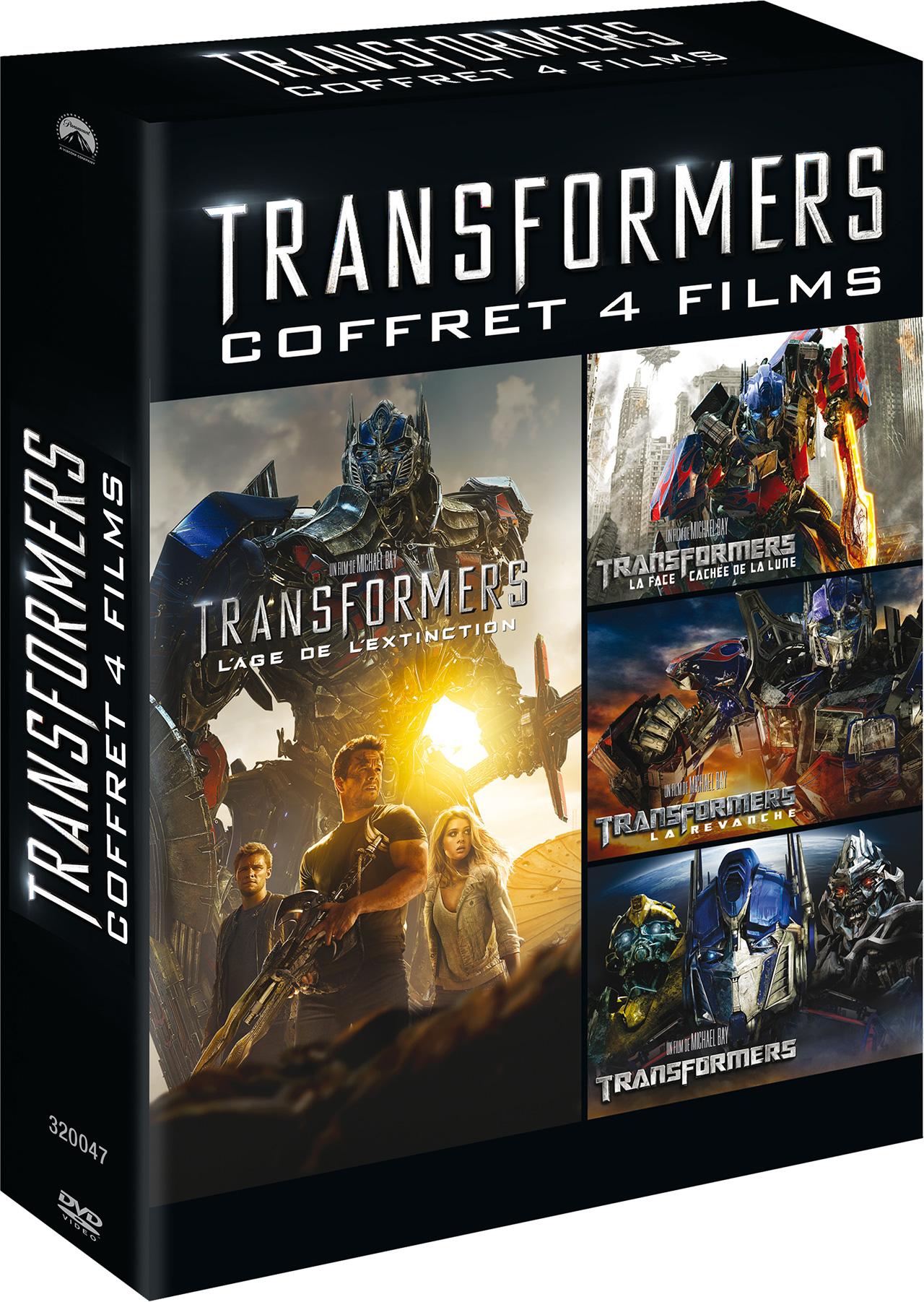 Transformers - Coffret intégrale DVD