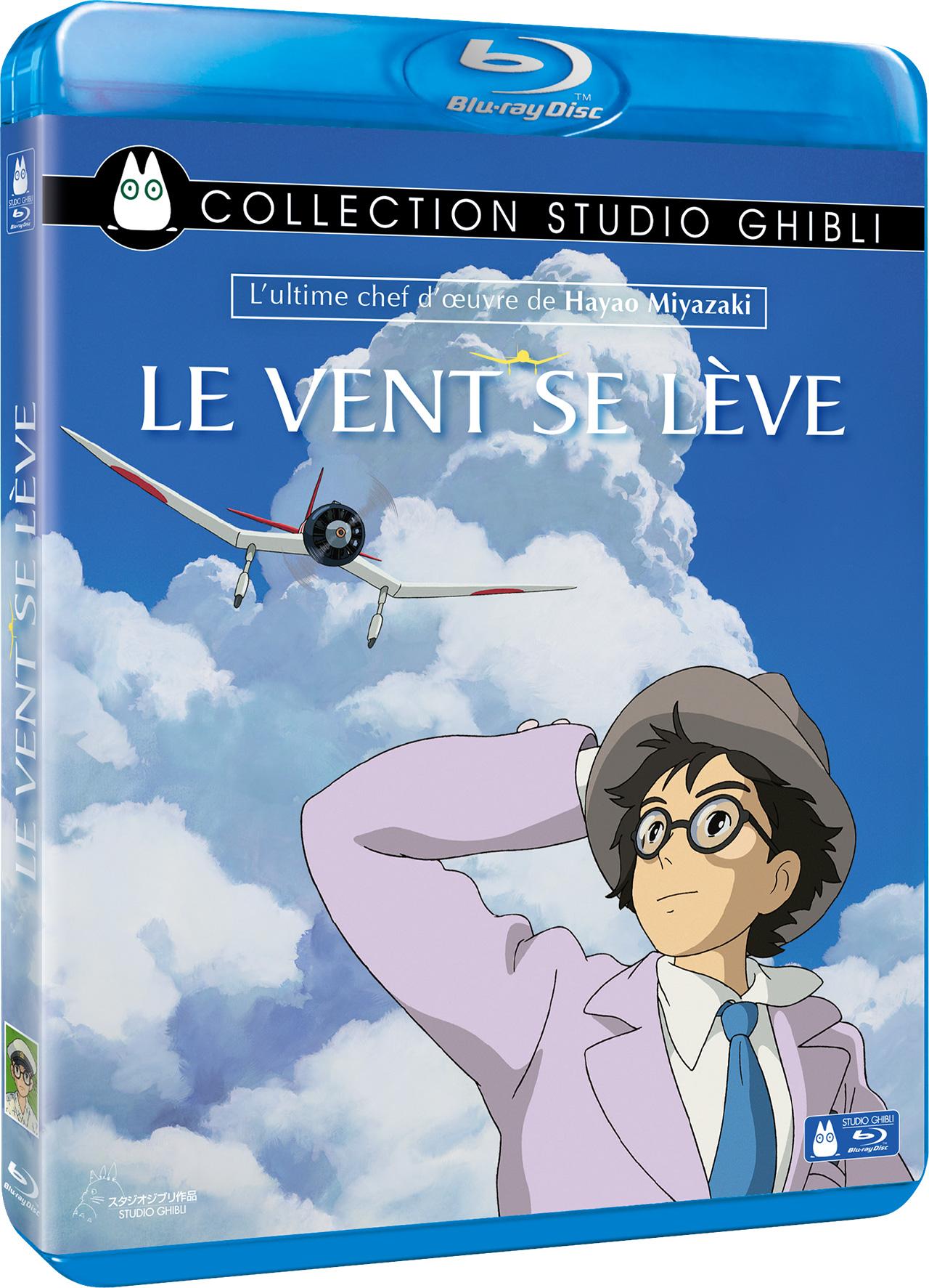 Le vent se lève de Hayao Miyazaki - Blu-ray