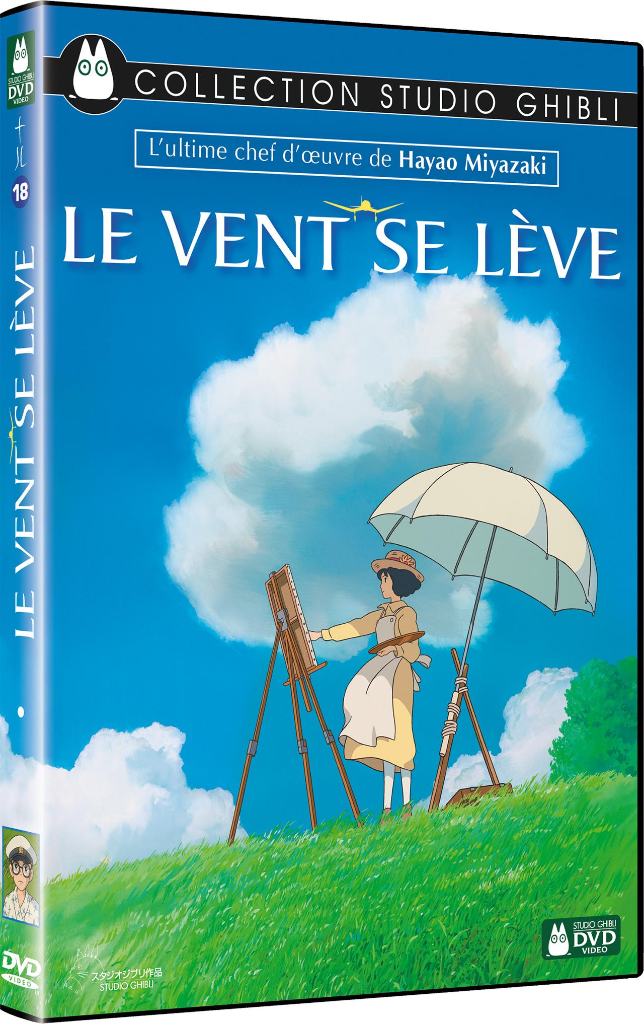 Le vent se lève de Hayao Miyazaki- DVD