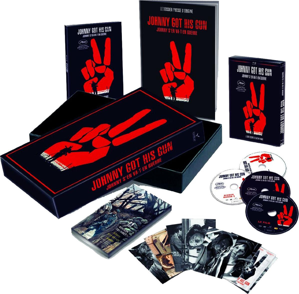 Johnny s'en va-t-en guerre - Blu-ray