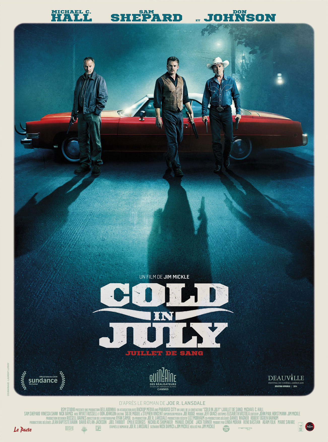 Affiche France - Cold in July
