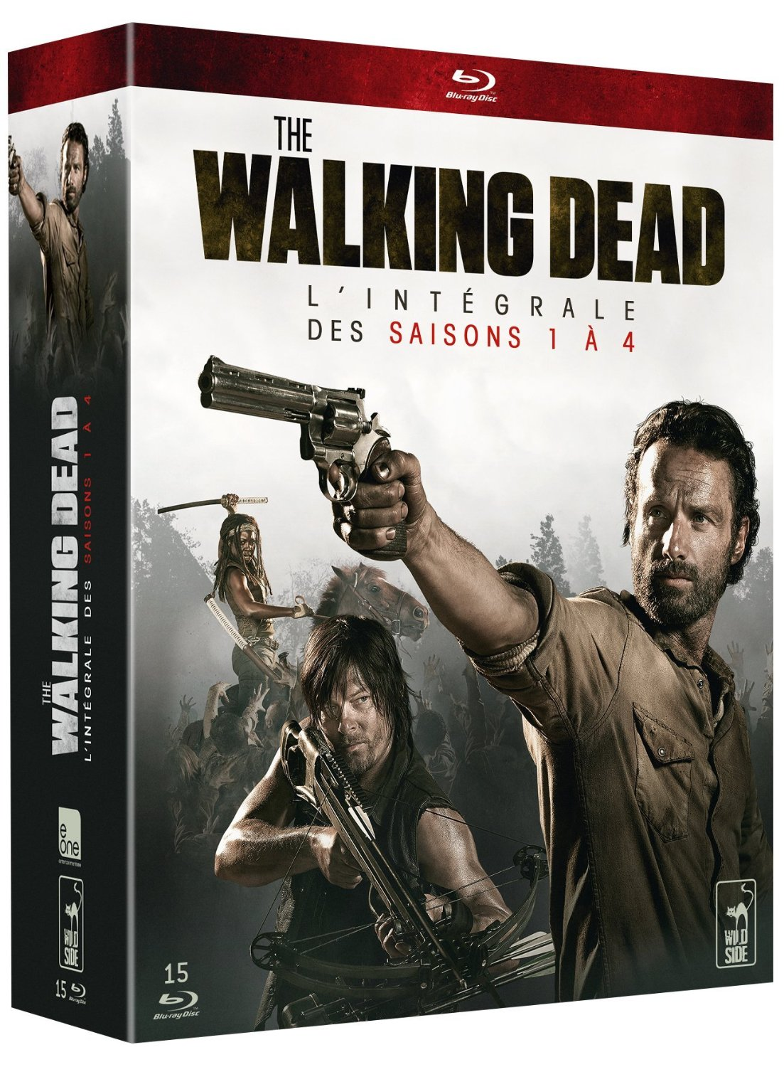 walking dead - coffret