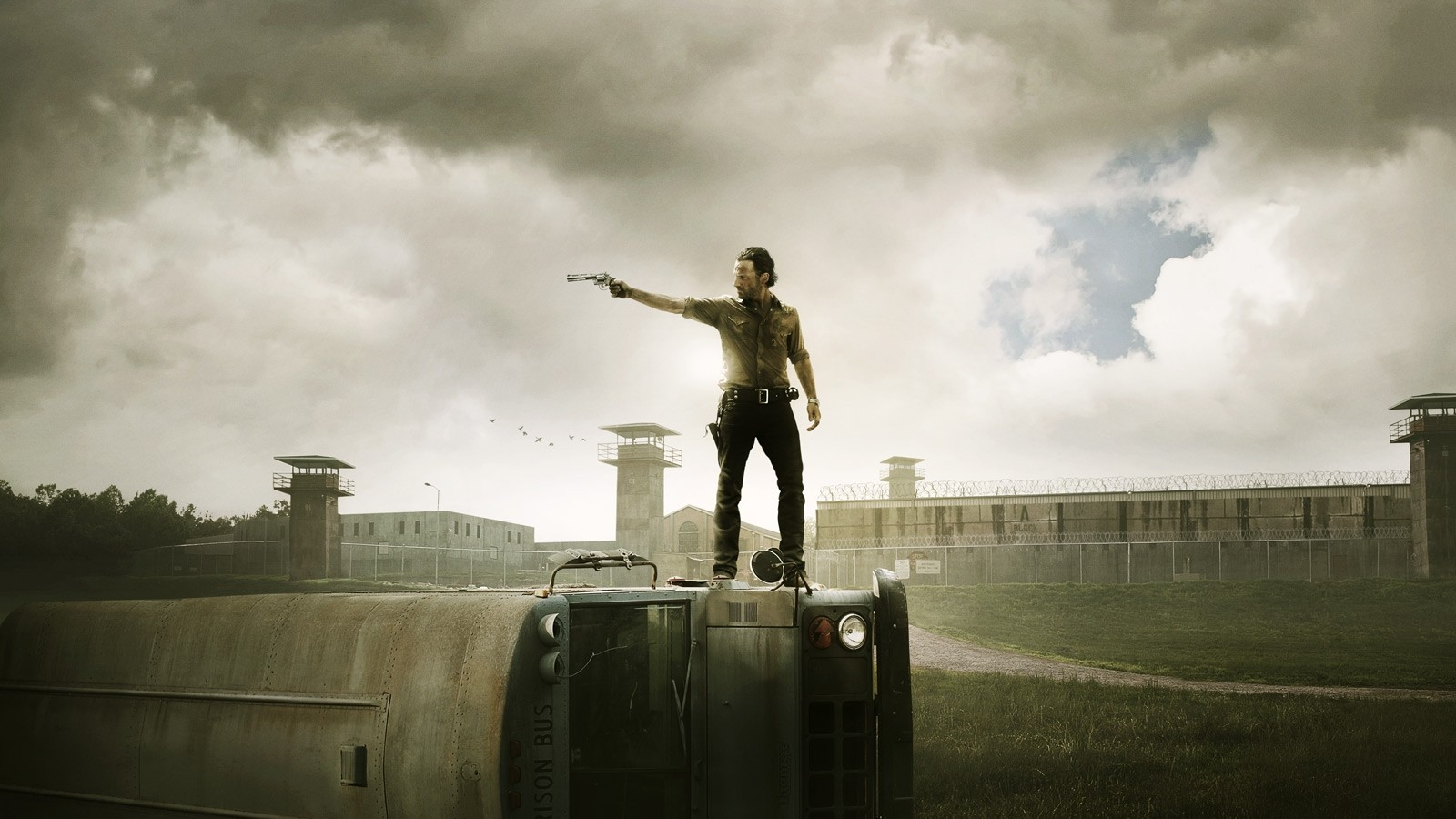 walking dead - saison 3 - affiche