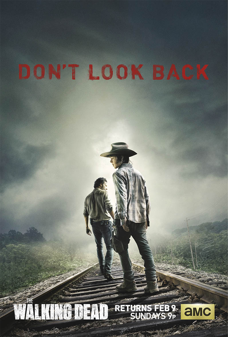 walking dead - saison 5 - affiche