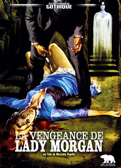 La Vengeance de Lady Morgan-Affiche DVD