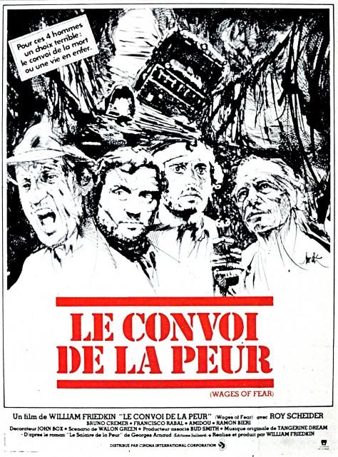 Le Convoi de la peur-Affiche française d'origine