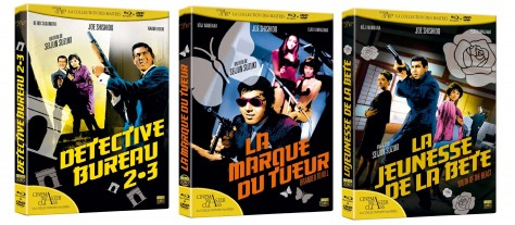Vague Seijun Suzuki - Blu-ray Elephant Films