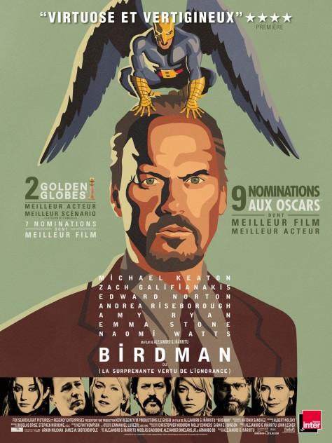 Birdman-aff-française Alejandro González Iñárritu