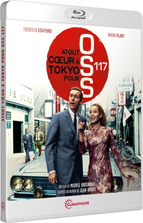 Atout cœur à Tokyo pour OSS 117 - Blu-ray
