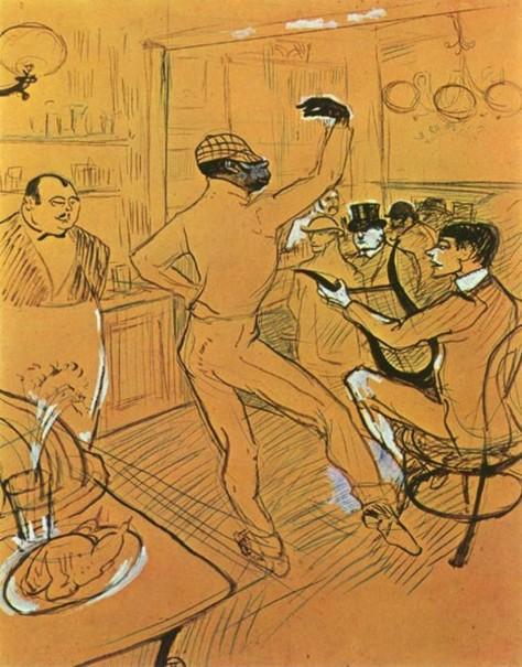 Toulouse-Lautrec-Clown-nègre