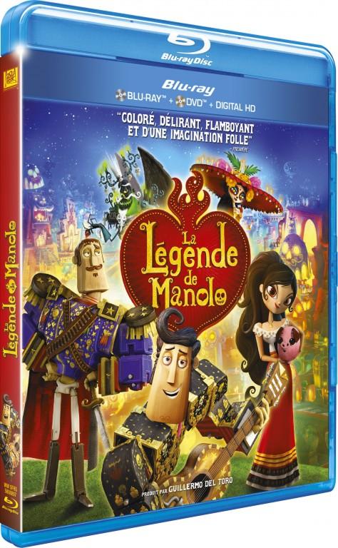 La Légende de Manolo - Blu-ray