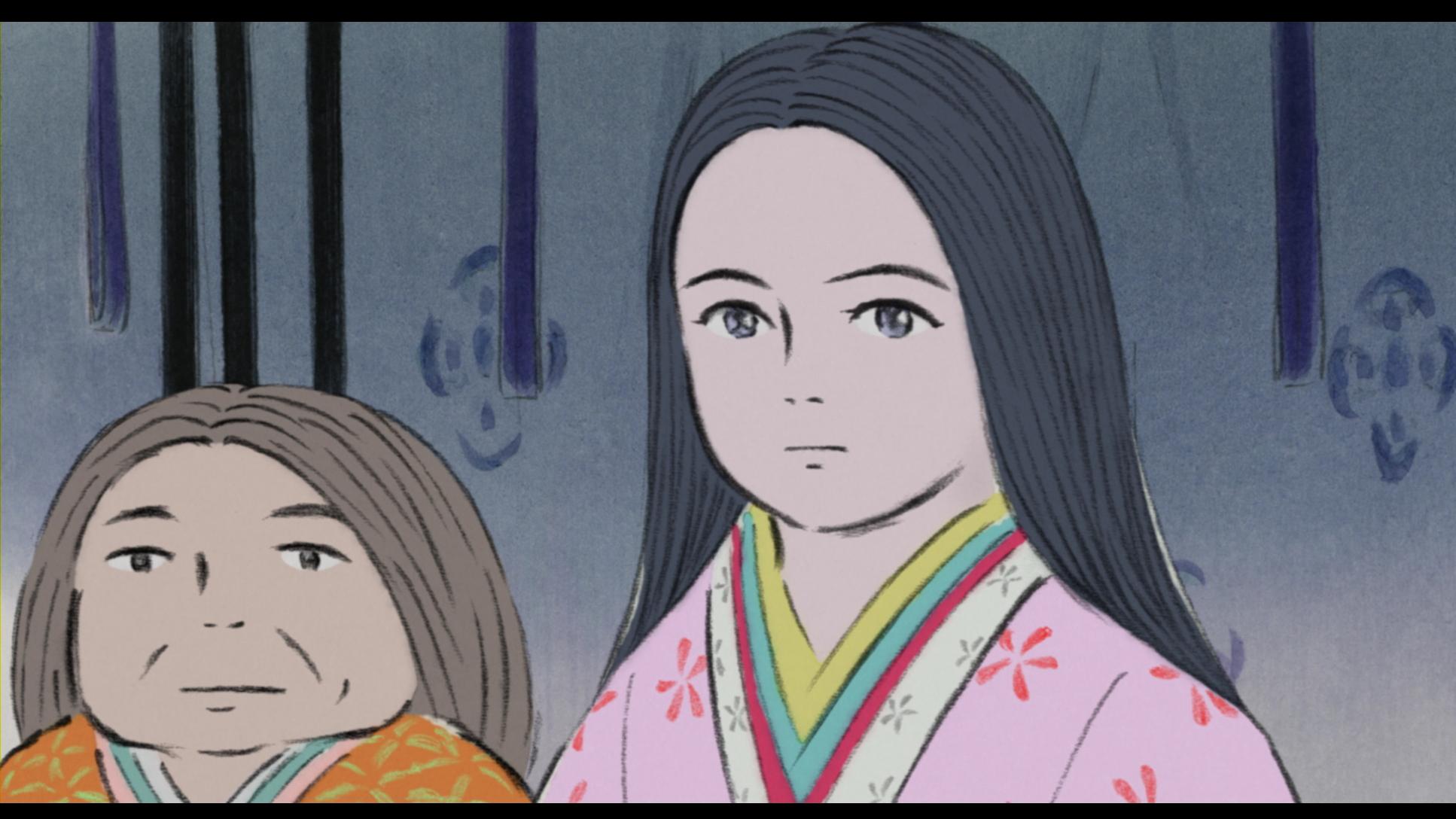 Le Conte De La Princesse Kaguya En Blu Ray Tests Blu Ray