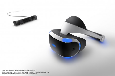 Project Morpheus - PlayStation 4 - Prototype
