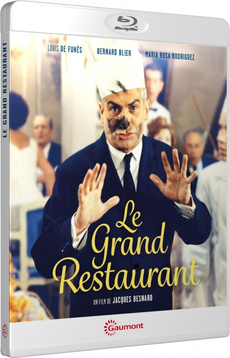 Le Grand restaurant - De Funès - Blu-ray - Packshot