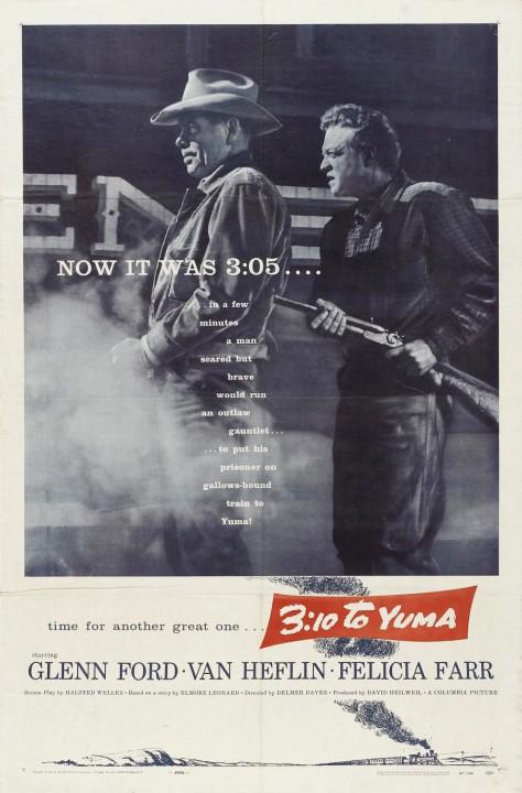 3h10 pour Yuma - Affiche US