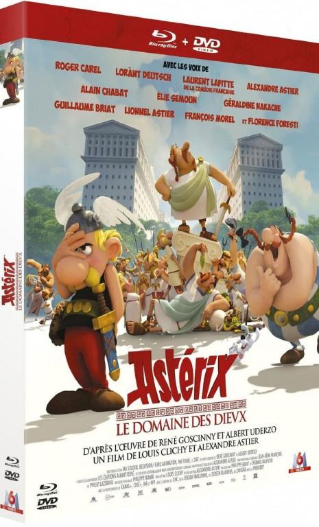 Astérix - Le Domaine des Dieux - Jaquette Blu-ray