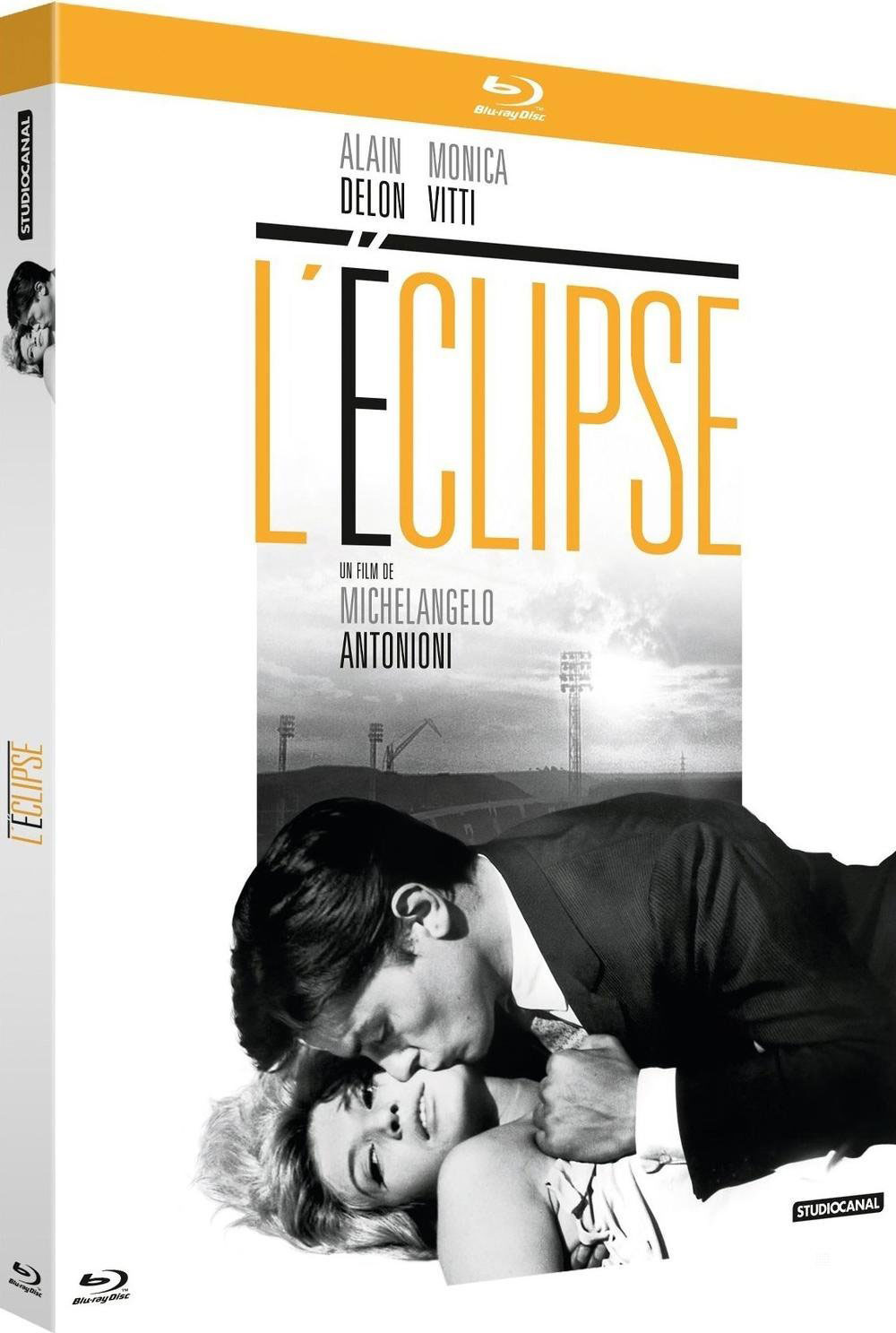 Jaquette Blu-ray - L'Eclipse