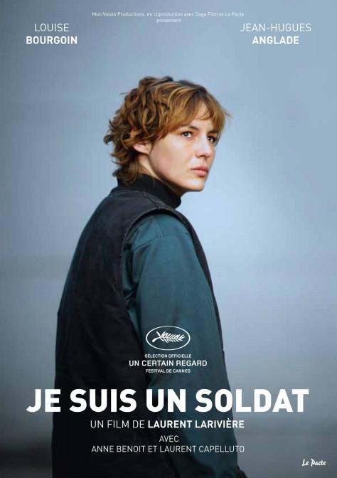 Je suis un soldat - Affiche Cannes