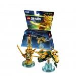 LEGO Dimensions - Gold Ninja Pack Héros
