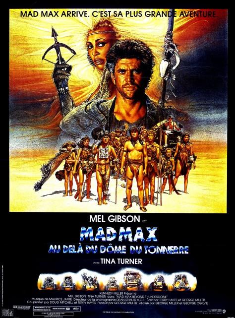 Mad Max : Au-delà du dôme du tonnerre - Affiche France