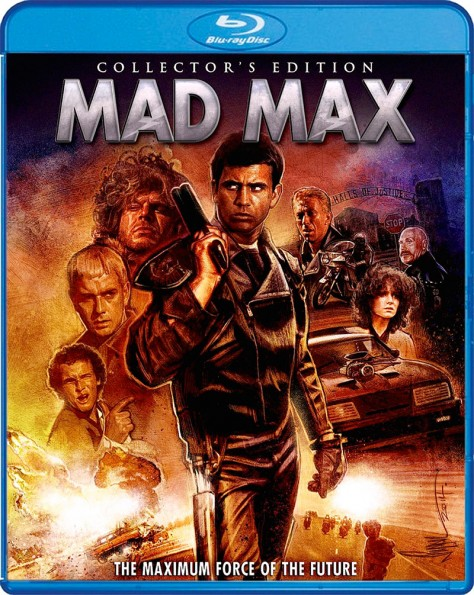 Mad Max - Blu-ray Shout Factory - Jaquette