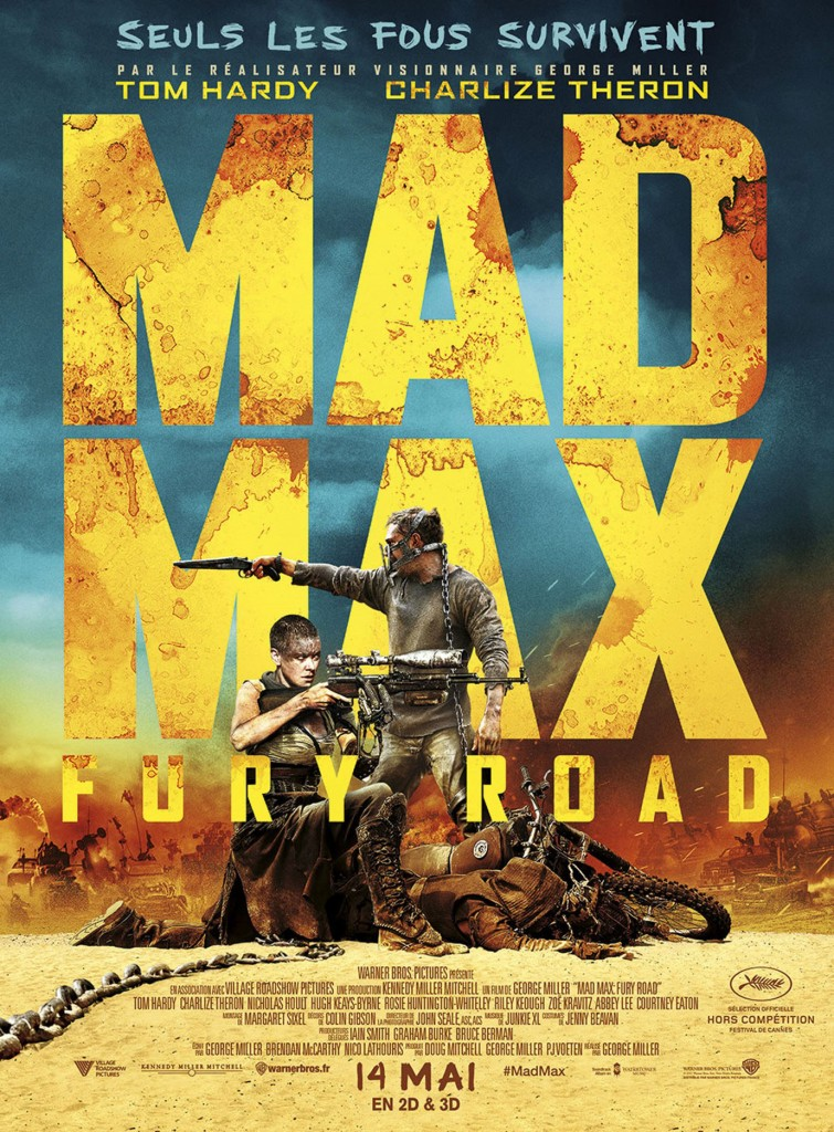 Mad Max : Fury Road - Affiche française