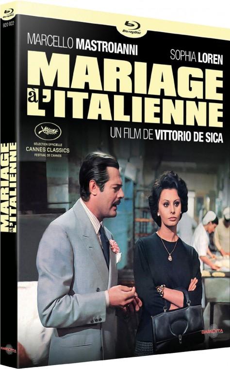 Mariage à l'italienne - Blu-ray