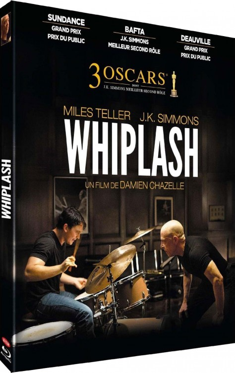 Whiplash - Packshot Blu-ray