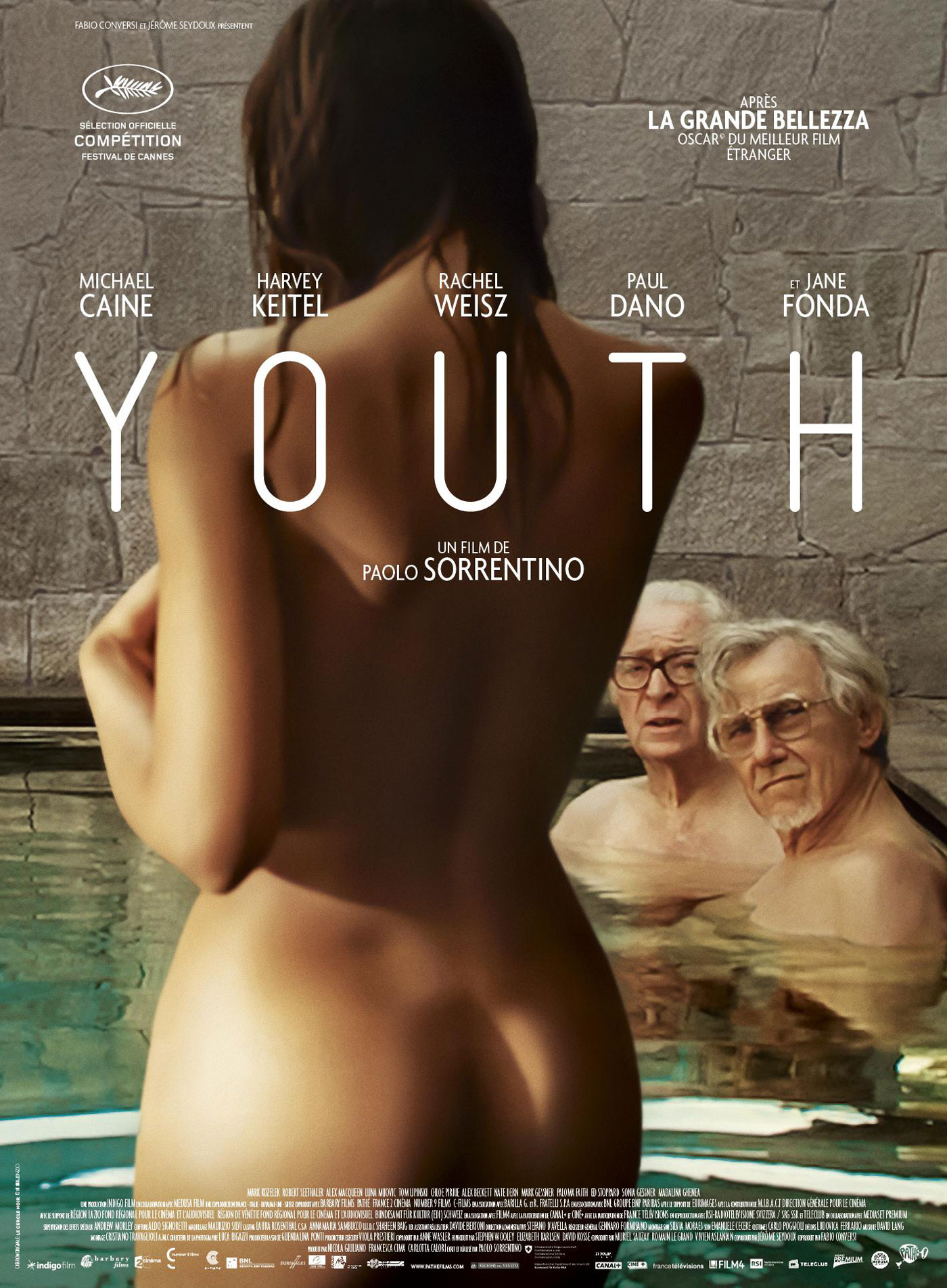 Youth - Affiche Cannes