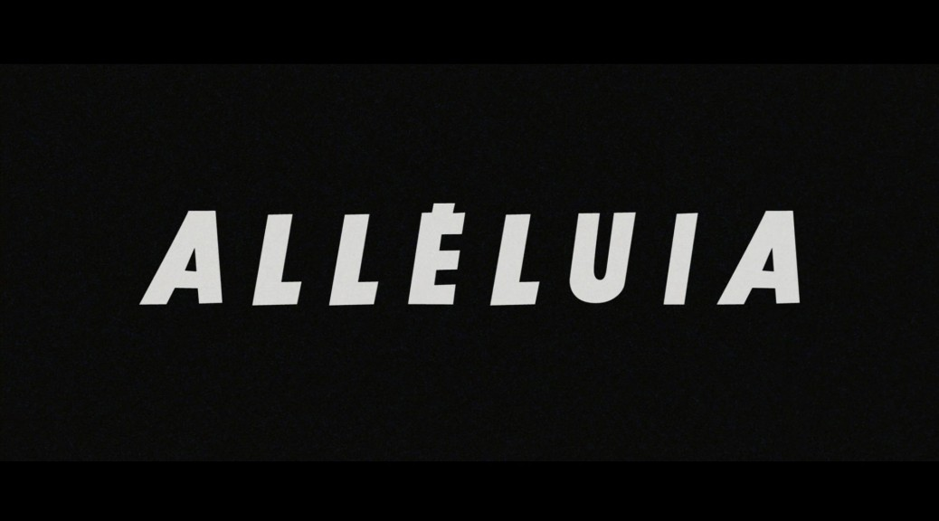 Alleluia - Capture Blu-ray