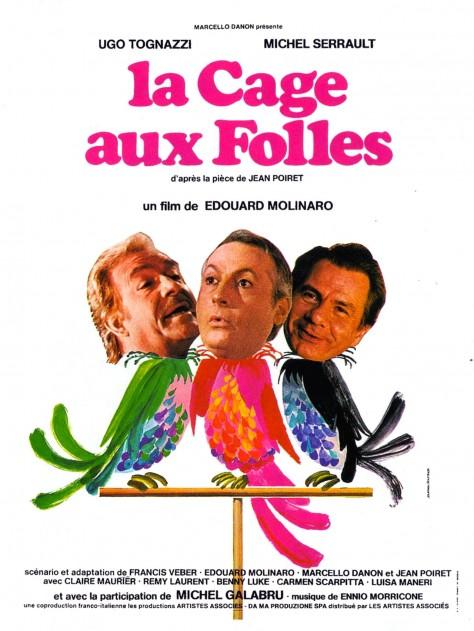 La Cage aux folles - Affiche