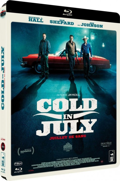 Cold In July - Recto Blu-ray
