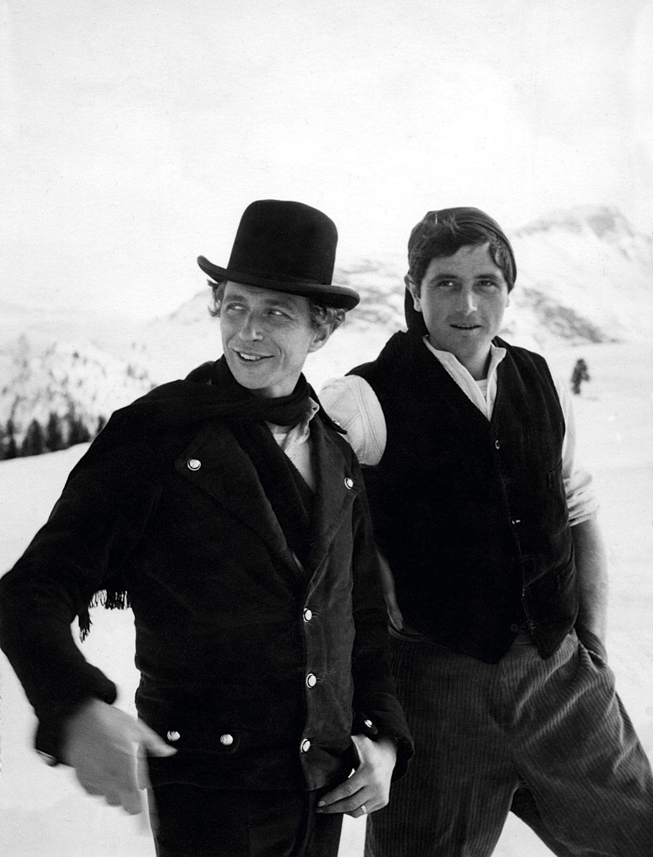 Victor Lanoux et Pierre Richard