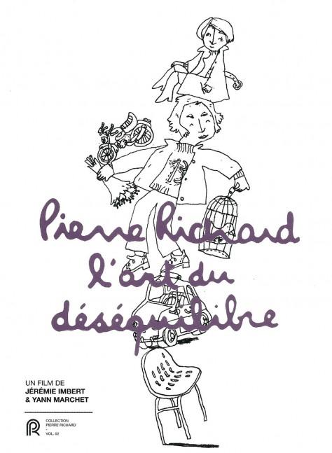 Recto DVD - L'art du déséquilibre - Pierre Richard