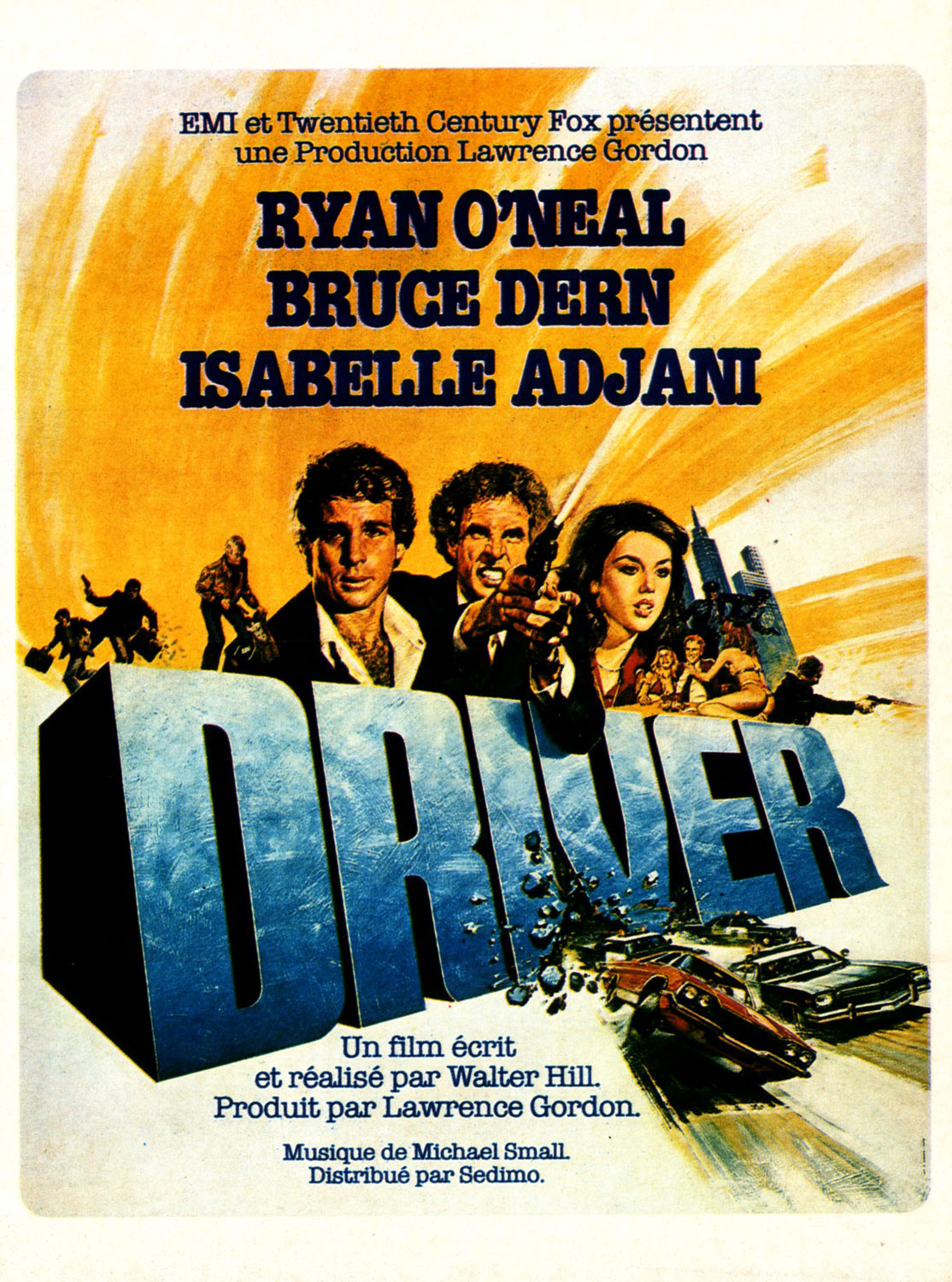 The Driver - Affiche France d'époque
