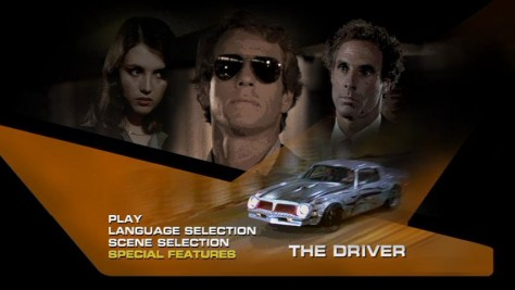The Driver - Menu DVD US