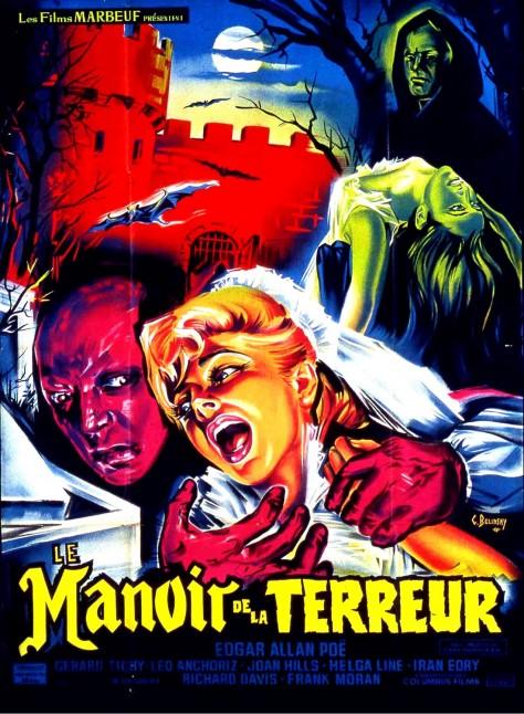 Le Manoir de la terreur - Affiche France