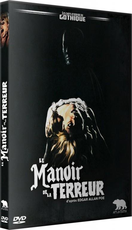 Le Manoir de la terreur - Recto DVD Artus